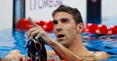 """অলিম্পিকের ফ্লাইং ফিশ """" মাইকেল ফেল্পস"""""""