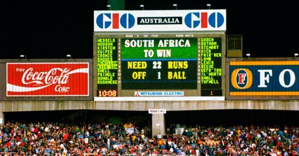 ১৯৯২ : ১ বলে ২২ রান আর দক্ষিণ আফ্রিকার এক জীবনের আক্ষেপ