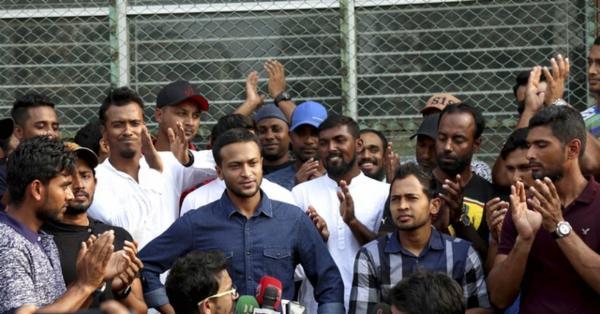 ১১ দফা দাবিতে ধর্মঘটে বাংলাদেশ ক্রিকেটাররা