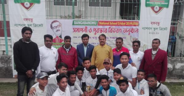 পিরোজপুর সরকারী স্কুল পিরোজপুর জেলা চ্যাম্পিয়ন