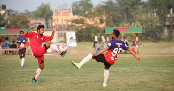 ফুটবলে জয় পেয়েছে ইসলামী বিশ্ববিদ্যালয়, বিইউএফটি