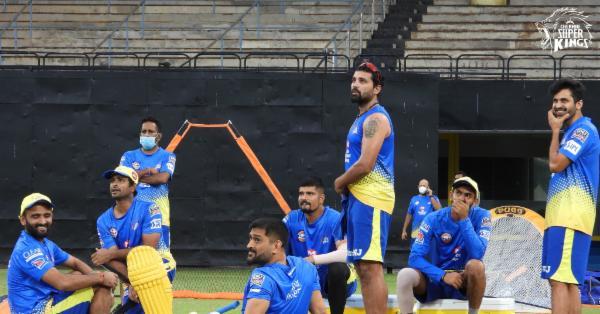 ১ জন ভারতীয় ক্রিকেটারসহ চেন্নাই সুপার কিংসের ১০ জন কোভিড-১৯ পজিটিভ