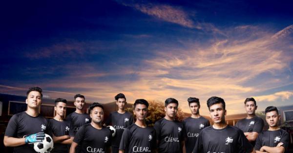 ক্লিয়ার মেন অনূর্ধ্ব-১৭ ফুটবলে গোলবন্যা